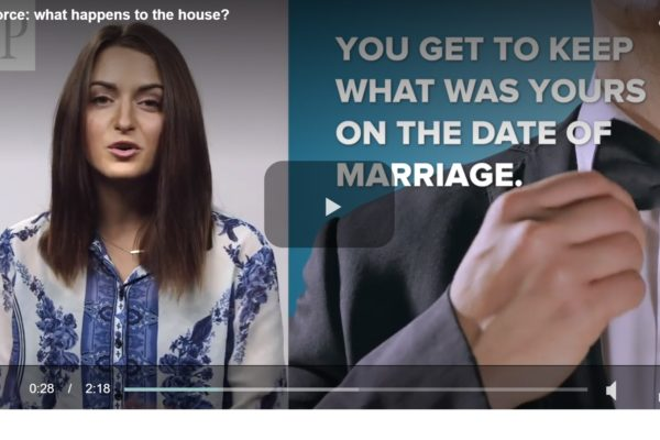 National Post Video – Divorce: What Happens to the House